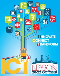 Можливість отримати підтримку для участі у ICT event 2015, Лісабон, 20-22 жовтня 2015
